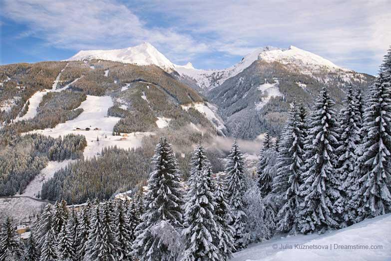 Panoramablick von Graukogel
