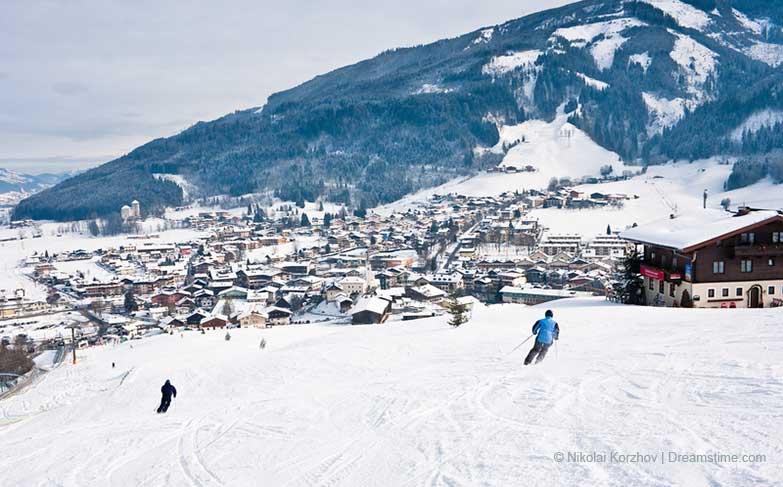Skiort Kaprun