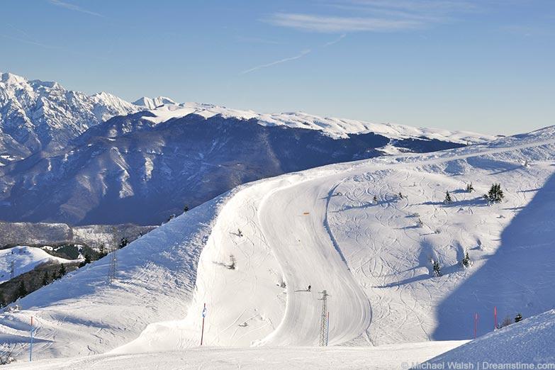 Die Skiarena Monte Baldo