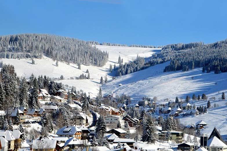 Skigebiet im Schwarzwald